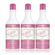 Kit Inoar BB Cream - Shampoo + Condicionador + Leave In