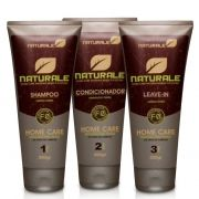 Kit Shampoo + Condicionador + Leave In  Calêndula Naturale Brasil - 300g