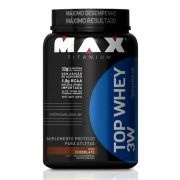 Top Whey 3W Max Titanium - Chocolate- 900g