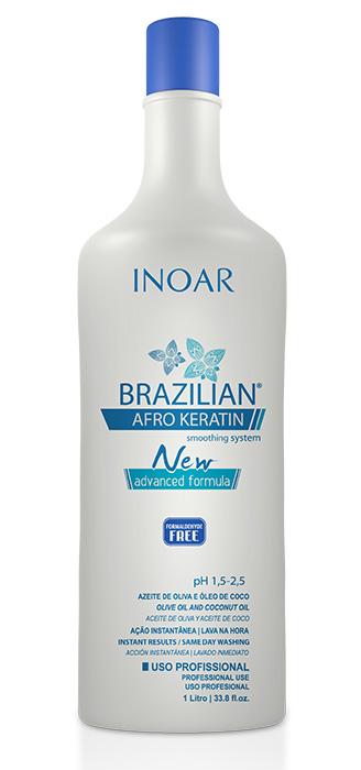 Brazilian Afro Keratin - 1 Litro - INOAR