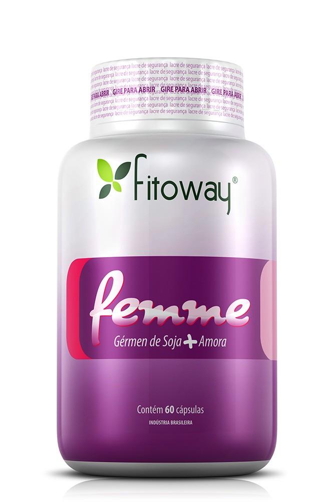 Femme Fitoway (Amora + Germen Soja) - 60 Cáps