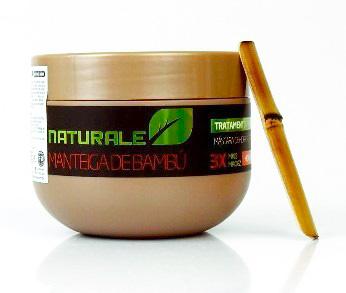 Manteiga de Bambu Naturale - F0 - Máscara de Alta Hidratação - 300g