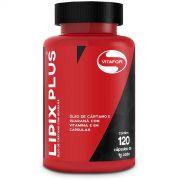 Lipix Plus - Óleo de Cártamo com Guaraná - 120 Caps - Vitafor