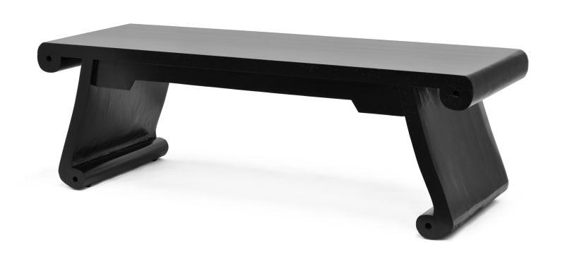 BANCO DE MADEIRA PRETO  - DECORASIA - Importadora de móveis e objetos
