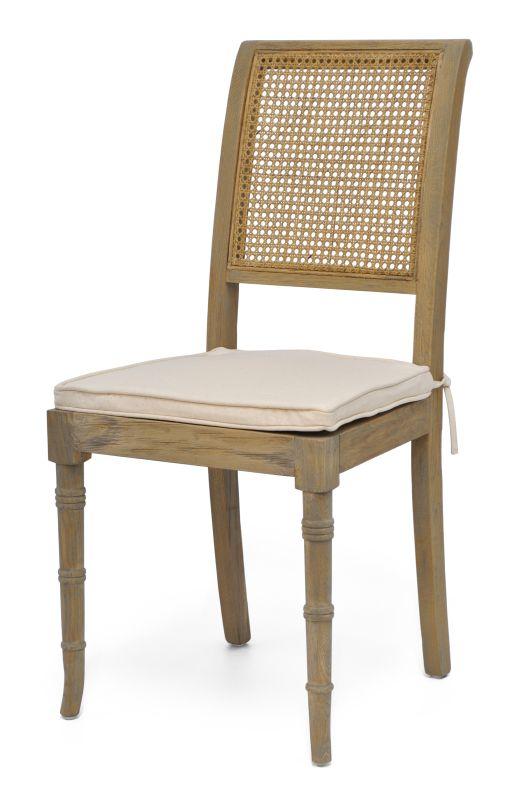 CADEIRA MONTREAL I MADEIRA CINZA  - DECORASIA - Importadora de móveis e objetos
