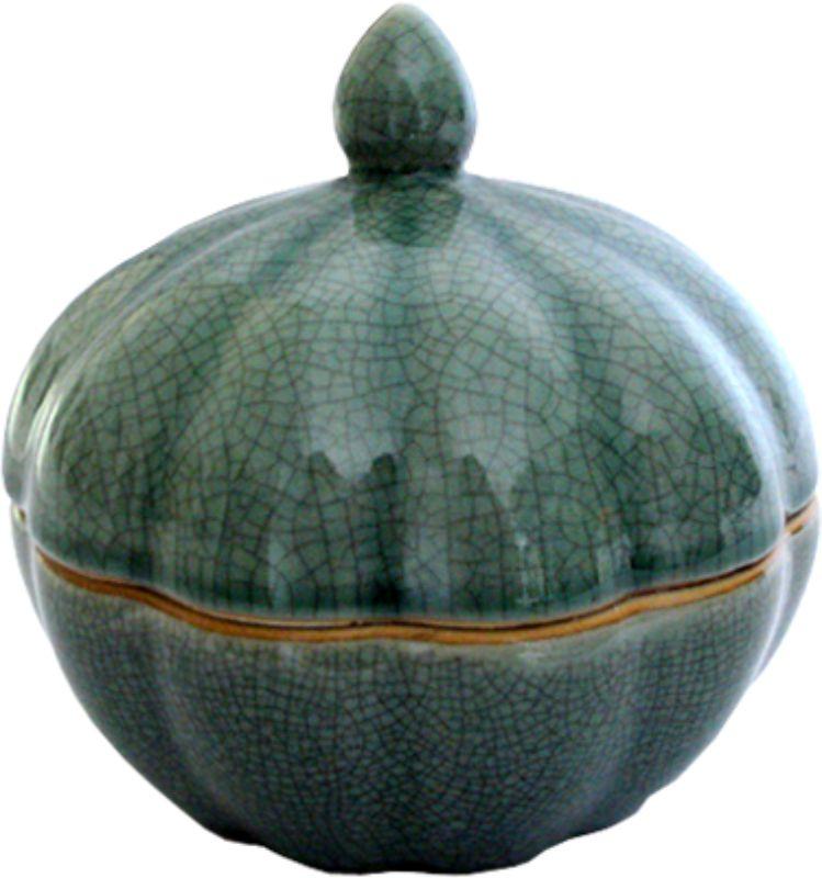 CAIXA MORANGA P OLD GREEN  - DECORASIA - Importadora de móveis e objetos