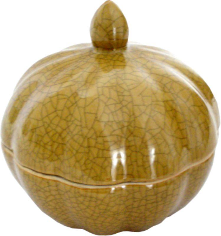 CAIXA MORANGA P OLD YELLOW  - DECORASIA - Importadora de móveis e objetos