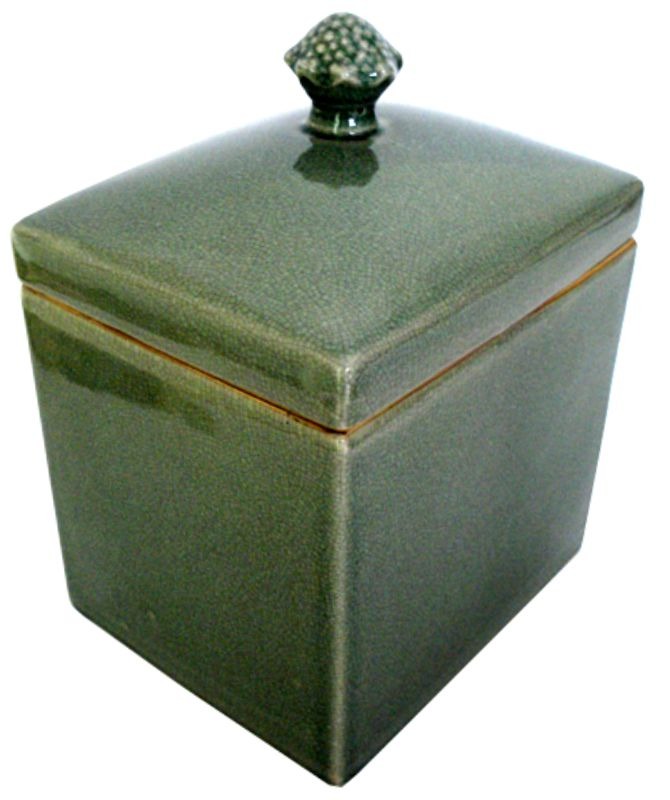 CAIXA OLD GREEN  - DECORASIA - Importadora de móveis e objetos