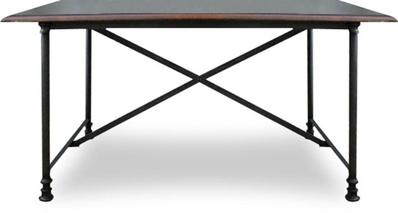 MESA MADEIRA E FERRO  - DECORASIA - Importadora de móveis e objetos