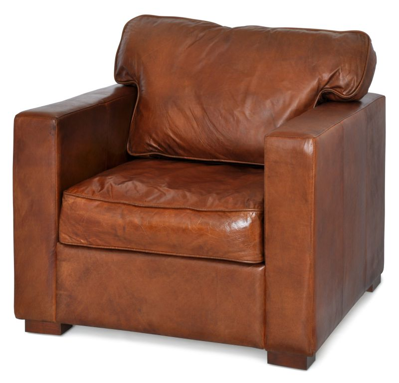 POLTRONA SEATTLE CACAU  - DECORASIA - Importadora de móveis e objetos