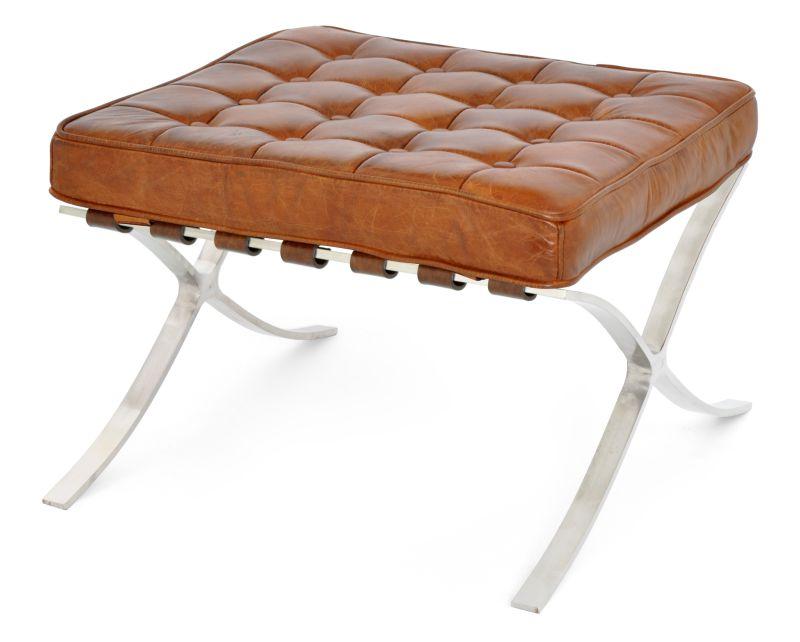 PUFF BARCELONA CACAU  - DECORASIA - Importadora de móveis e objetos