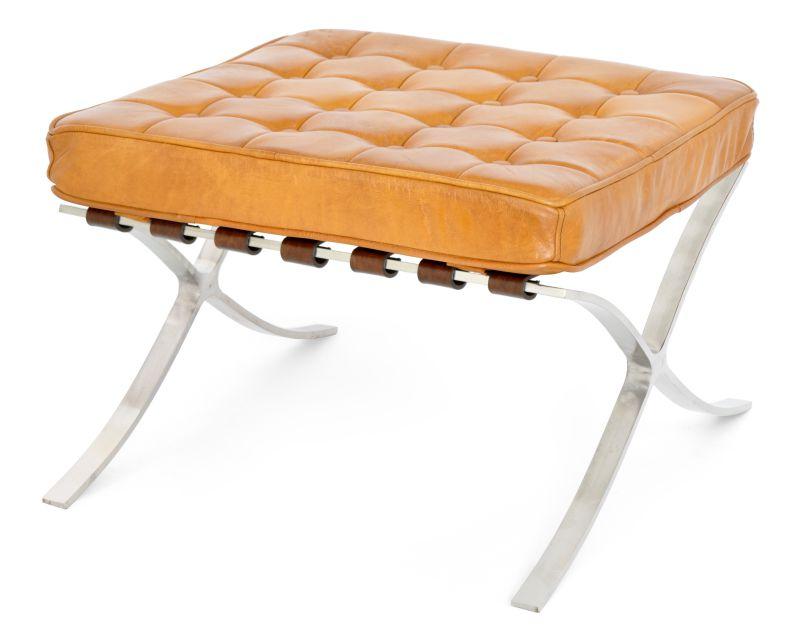 PUFF BARCELONA CARAMELO  - DECORASIA - Importadora de móveis e objetos