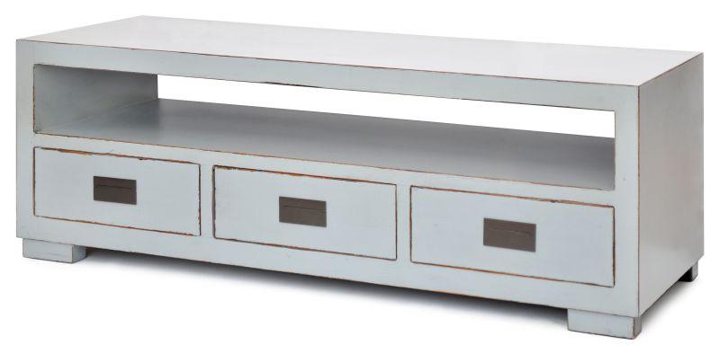 RACK MACAU CINZA  - DECORASIA - Importadora de móveis e objetos