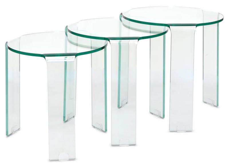 TRIO MESA LATERAL CAPRI  - DECORASIA - Importadora de móveis e objetos