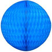 Balão GLOBO Bola de Papel de seda Cor Azul Turquesa GiroToy Enfeites