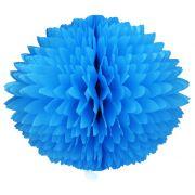 BOLA POM POM 280mm (28cm) Azul Turquesa