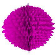 BOLA POM POM 580mm (58cm) Pink Pompom de papel seda colmeia GiroToy Enfeites fazemos cores personalizadas - linda para decoração de mesa vitrine festas loja mercados concessionaria