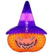 CABEÇA DE ABÓBORA 480mm Abobora decoração Halloween para ambientes escolas linguas decoração de dia das bruxas - itens para decorar halloween GiroToy