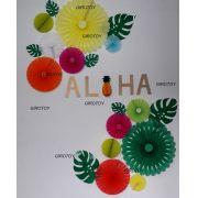 Decoração Festa Havaiana Aloha Painel de fotos