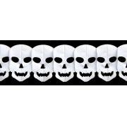 FAIXA CAVEIRA HALLOWEEN 2500mm (250cm) faixa de caveira decorada halloween GiroToy