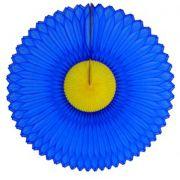 GIRASSOL 630mm (63cm) Azulão c/ Amarelo Girassol para decorar parede teto chá lingerie cha de cozinha cha de bebe cha revelação decoração primavera vitrine de lojas GiroToy