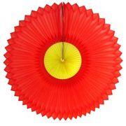GIRASSOL 630mm (63cm) Vermelho c/ Amarelo Girassol para decorar parede teto chá lingerie cha de cozinha cha de bebe cha revelação decoração primavera vitrine de lojas GiroToy
