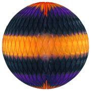 GLOBO 340mm (34cm) Halloween Balão bola pompom de papel seda Halloween festa dia das bruxas ideia de decorações bolas de papel em brasilia minas gerais montes claros 1001 festas GiroToy Enfeites
