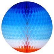 GLOBO 340mm (34cm) Tons de Azul c/ Laranja