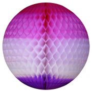 GLOBO 480mm (48cm) Tons de Rosa c/ Lilás