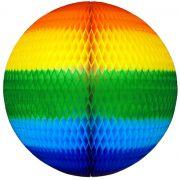 GLOBO 680mm (68cm) Arco Íris Tingido
