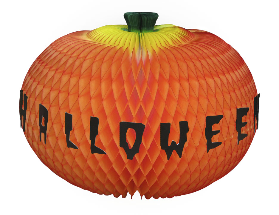ABÓBORA HAPPY HALLOWEEN 420mm (42cm) Abobora Festa halloween dia das bruxas incrivel decoração de dia das bruxas fazemos cores personalizadas consulte-nos