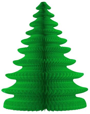 Enfeite Arvore de Natal 48cm Verde decorativa sala pequena decoração natalina apartamento