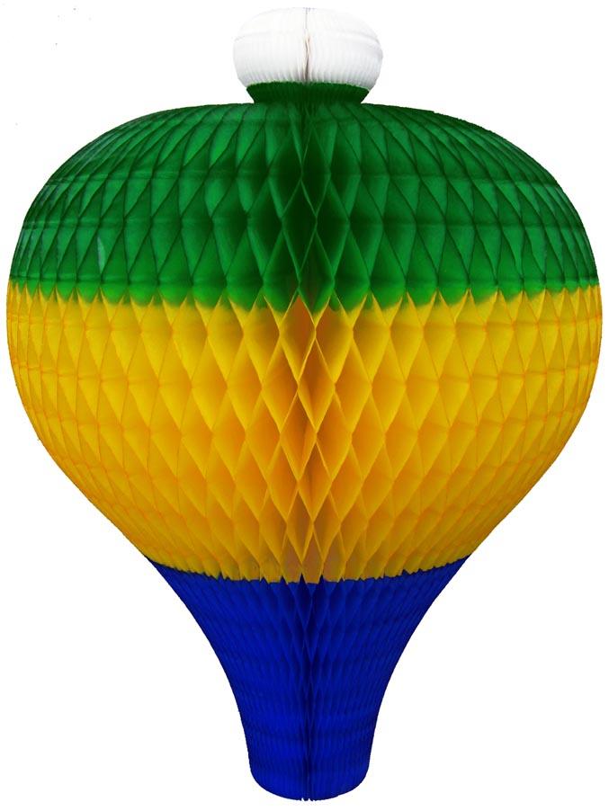 BALÃO CARRAPETA 300m (30cm) Bandeira do Brasil