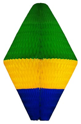 BALÃO ORIENTAL 680mm (68cm) Bandeira do Brasil Bandeira do Brasil decoração para Copa do Mundo Copa America Amistosos bares choperias mercados vitrines Vai Brasil