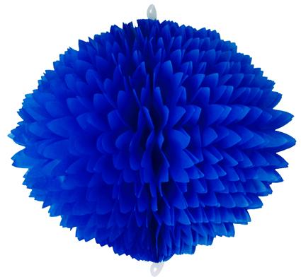BOLA POM POM 580mm (58cm) Azulão
