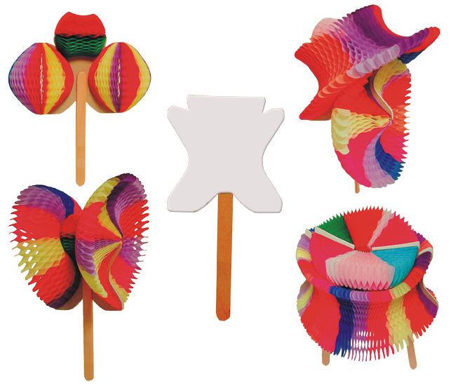 Enfeite Multicolorido 10pçs Guitarrinha magica auxilia coordenação motora crianças descubram cor GiroToy