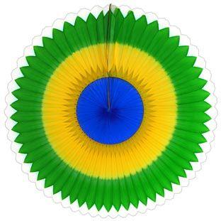 GIRASSOL 250mm (25cm) Bandeira do Brasil Girassol para decorar  parede teto chá lingerie cha de cozinha cha de bebe cha revelação decoração primavera vitrine de lojas GiroToy