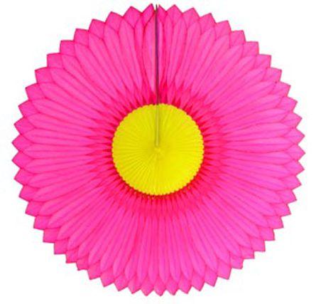 GIRASSOL 250mm (25cm) Pink c/ Amarelo Girassol para decorar parede teto chá lingerie cha de cozinha cha de bebe cha revelação decoração primavera vitrine de lojas GiroToy