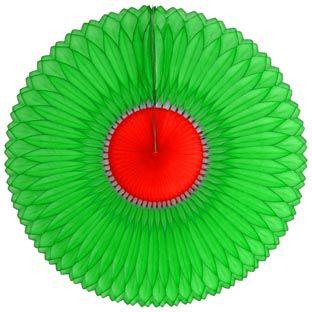 GIRASSOL 250mm (25cm) Verde c/ Vermelho Girassol para decorar parede teto chá lingerie cha de cozinha cha de bebe cha revelação decoração primavera vitrine de lojas GiroToy