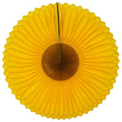 GIRASSOL 420mm (42cm) Amarelo Ouro c/ Marrom