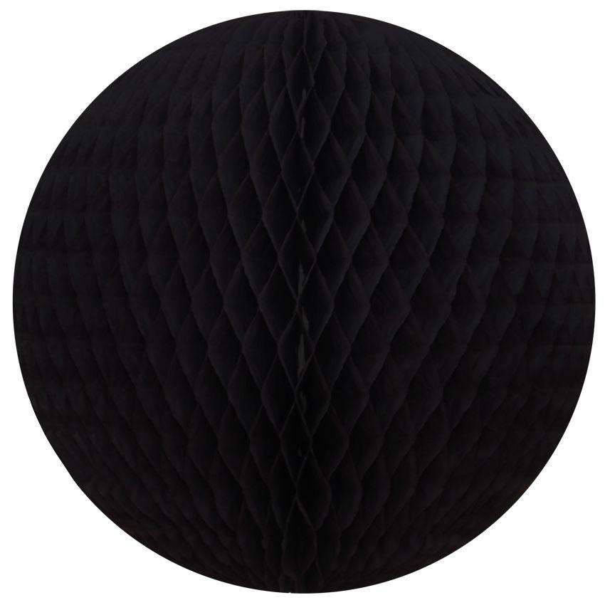 Balão GLOBO Bola de Papel de seda Cor Preto GiroToy Enfeites