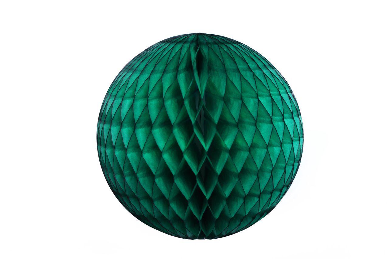 Balão GLOBO Bola de Papel de seda Cor Verde Bandeira GiroToy Enfeites
