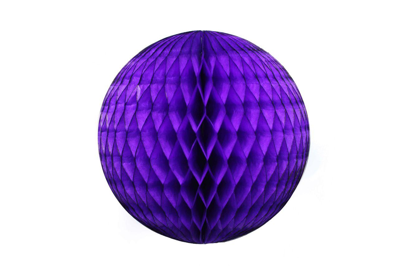 Balão GLOBO Bola de Papel de seda Cor ROXO GiroToy Enfeites
