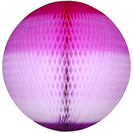 GLOBO 680mm (68cm) Tons de Rosa c/ Lilás