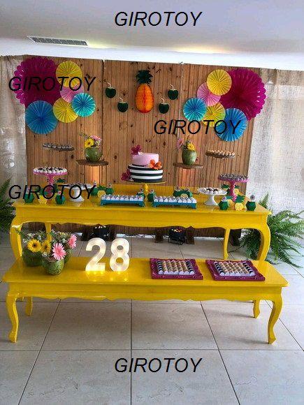 Kit Luxo Fioratas e Frutas - GiroToy