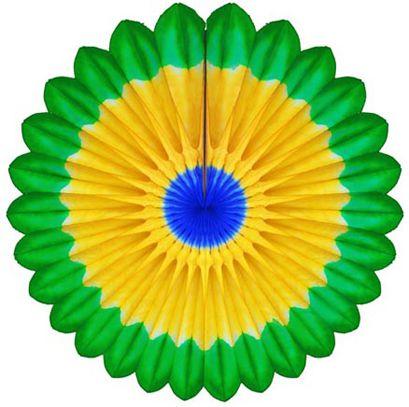 MARGARIDA PRIMAVERA 850mm (85cm) Bandeira do Brasil Decoração festa Primavera flores para vitrine loja fachada de boteco fachada de supermercado festa das flores luau praia piscina GiroToy