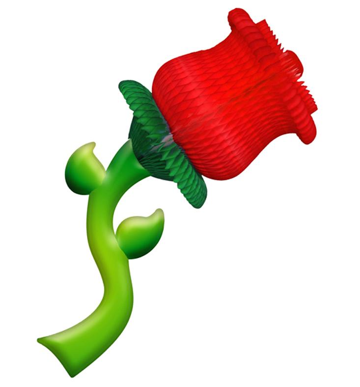 ROSA 180x440mm (18x44cm) Decoração de vitrine loja de modas roupas calçados decoração de shopping, festa das flores orquideas rosas de papel de seda margaridas GiroToy Enfeites