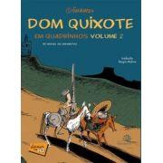DOM QUIXOTE EM QUADRINHOS  Vol II - CACO GALHARDO