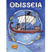 ODISSEIA EM QUADRINHOS - HOMERO