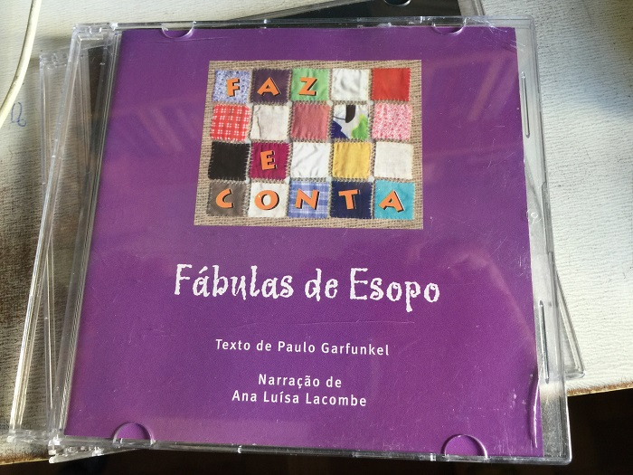CD - Fábulas de Esopo - Ana Luísa Lacombe